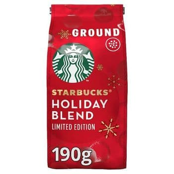 Starbucks Medium Roast Ground Coffee 190G