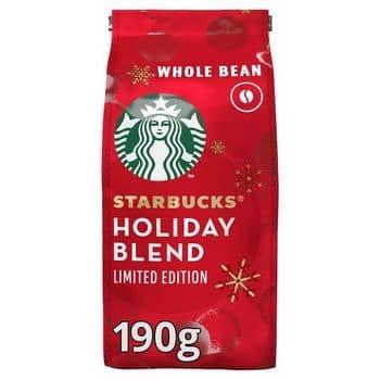 Starbucks Medium Roast Whole Bean Coffee 190G