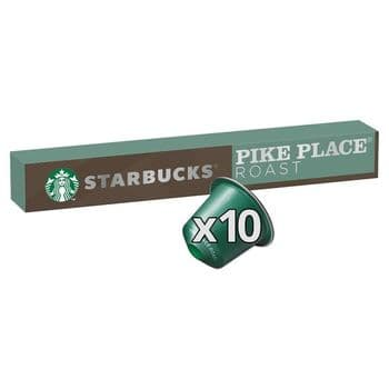 Starbucks Pike Place Coffee Pods 10 Pack 53G
