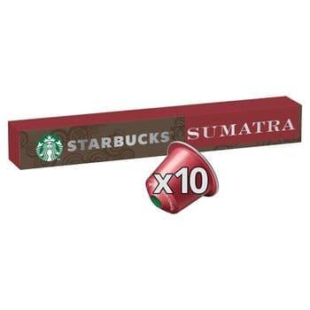 Starbucks Sumatra Coffee Pods 10 Pack 55G