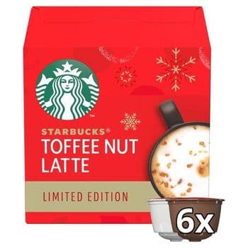 Starbucks Toffee Nut Latte 12 Coffee Cpsl 127.8G