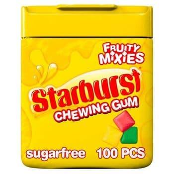 Starburst Gum Fruity Mix Mini Pellets