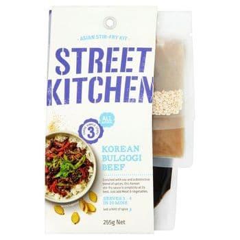 Street Kitchen Korean Bulgogi Meal Kit