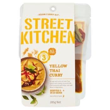 Street Kitchen Yellow Thai Curry Kit 285G