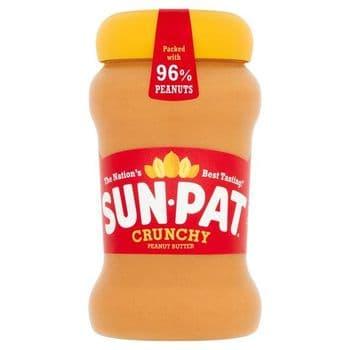 Sunpat Peanut Butter Crunchy 400G
