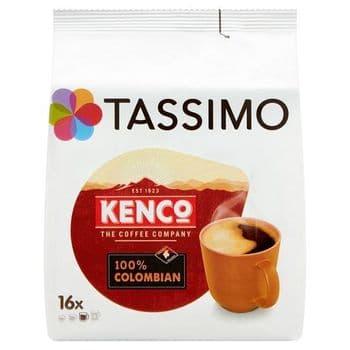 Tassimo Kenco 100% Colombian 16 Coffee Pods