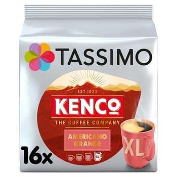 Tassimo Kenco Americano Grande Coffee Pods X16