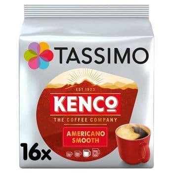 Tassimo Kenco Americano Smooth 16 Coffee Pods