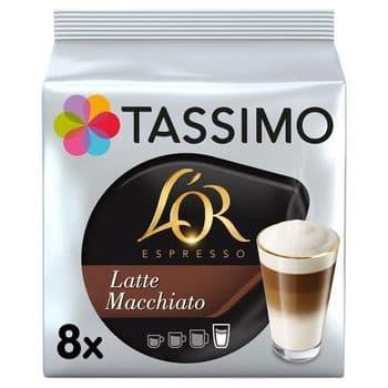 Tassimo L' Or. Latte Macchiato 8 Coffee Pods