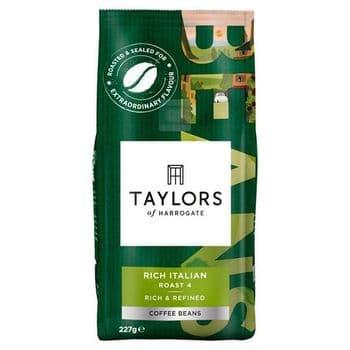 Taylors Rich Italian Coffee Beans 227G