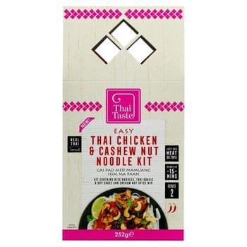 Thai Taste Thai Chicken Cashew &Noodle Kit 252G