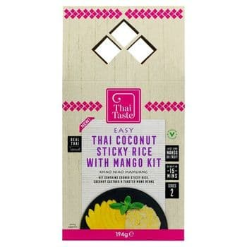 Thai Taste Thai Coconut Sticky Rice Mango Kit 194G