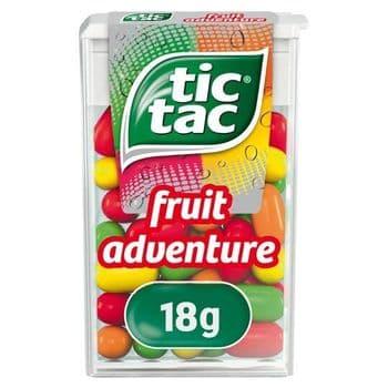 Tic Tac Fruit Adventure 18G