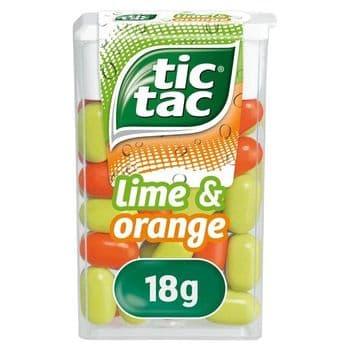Tic-Tac Lime & Orange 18G