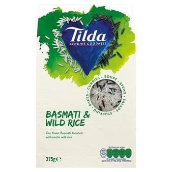 Tilda Basmati & Wild Rice 375G