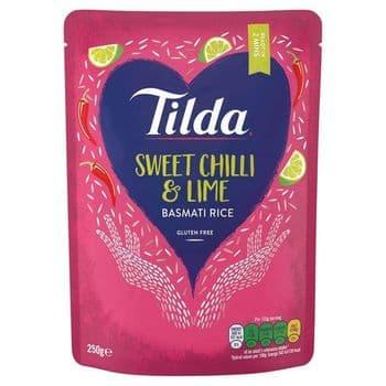 Tilda Chilli & Lime Basmati Rice 250G
