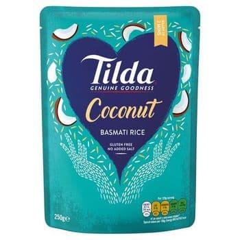 Tilda Coconut Basmati Rice 250G