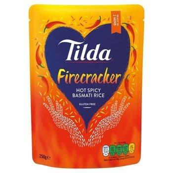Tilda Firecracker Basmati Rice 250G
