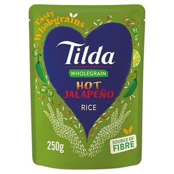 Tilda Hot Jalapeno Rice 250G