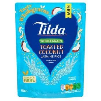 Tilda Toasted Coconut Jasmine Rice 250G