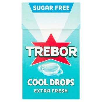 Trebor Cool Drop Extra Cool Sweets 28G