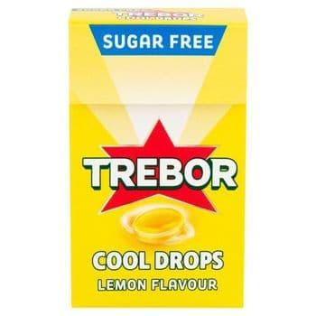 Trebor Cool Drop Lemon Sweets 28G