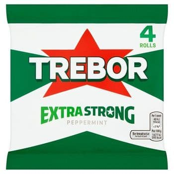Trebor Extra Strong Peppermint 4 Pack 165G