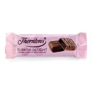 Turkish Delight Chocolate Bar (38g)