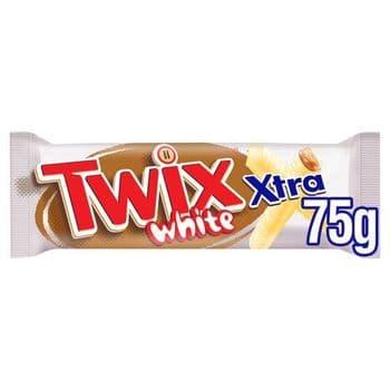 Twix White Chocolate Extra Single Twin 75G