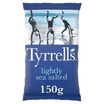 Tyrrells Crisps Lightlyseasalted Crisps 150G