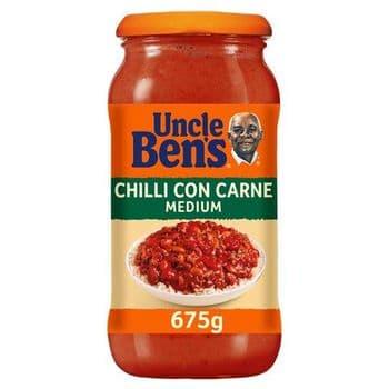 Uncle Bens Sauce Medium Chilli 675G