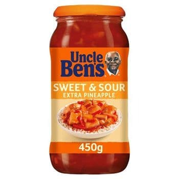 Uncle Bens Sweet & Sour Extra Pine Sauce 450G