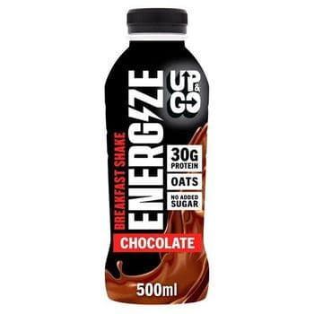 Up And Go Energize Chocolate Protein Drink 500Ml