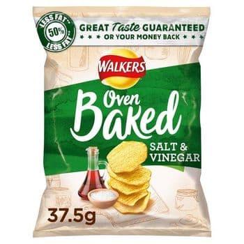 Walkers Baked Salt & Vinegar 37.5G