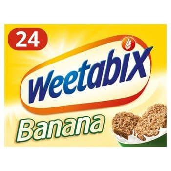 Weetabix Biscuits Banana Cereal 24 Pack