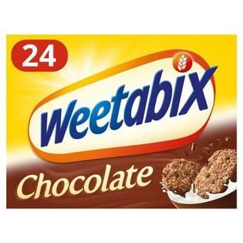 Weetabix Chocolate Cereal 540G (24Pk)