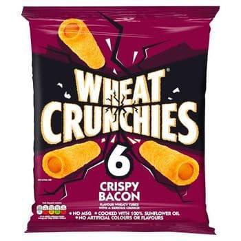 Wheat Crunchies Crispy Bacon 6 X 20G