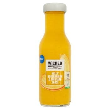Wicked Kitchen Horseradish & Mustard Sauce 250Ml