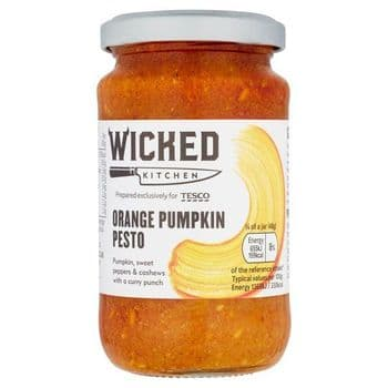 Wicked Kitchen Orange Pumpkin Pesto 190G