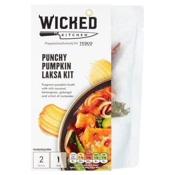Wicked Kitchen Punchy Pumpkin Laksa Kit 303G