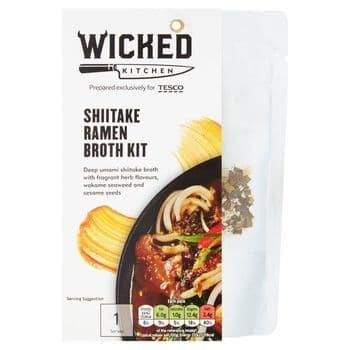 Wicked Kitchen Shiitake Ramen Broth Kit 302G