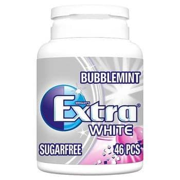 Wrigley Extra Bubblemint Gum Bottle 46 Pieces