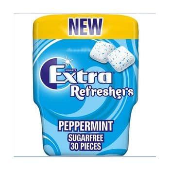 Wrigleys Extra Peppermint Sugar Free Gum 30Pces 67G
