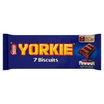 Yorkie Milk Chocolate Biscuits 7 Pack 171.5G