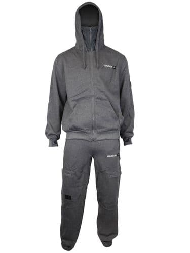 Evasive Three Tracksuit (heather grey/marl grey)