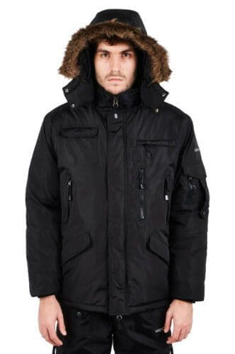 Hunter Military Parka Padded Coat