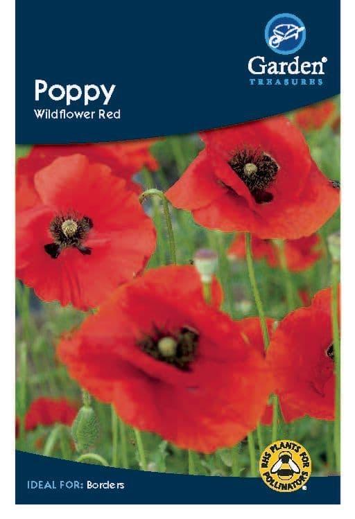 Poppy Wildflower Red