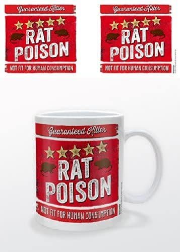 """""""5 Star Rat Poison """" Mug"""