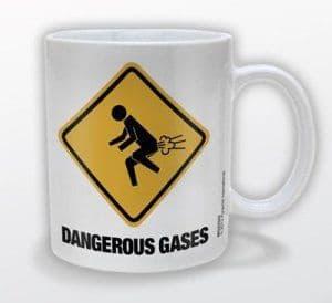 """Dangerous Gases"" Mug"