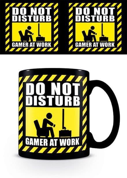 """""""Do Not Disturb Gamer At Work """" Mug"""
